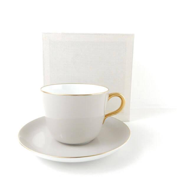 大倉陶園 色蒔き カップ&ソーサー
